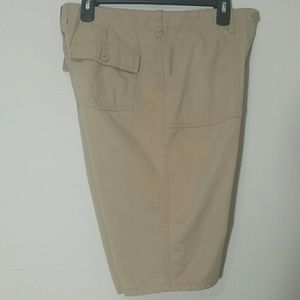 Khaki shorts size 8 New York & Company